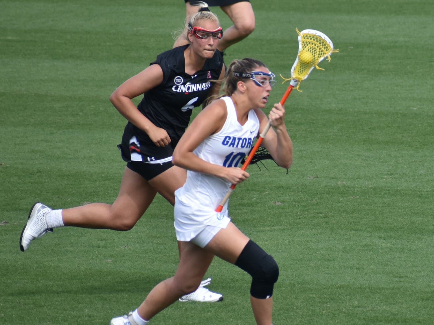 The No. 10 Gators took down the Old Dominion Monarchs in a 17-6 victory Friday. Photo from UF-Cincinnati game March 26.