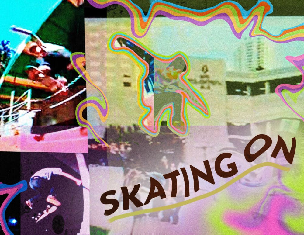 Skating On