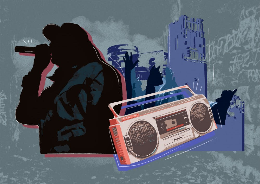 <p>The hip-hop music scene in Gainesville has often been left unheard, five local artists are working to promote themselves in the area's emerging genre.</p>