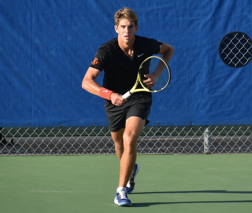 No. 68 Blaise Bicknell refused to give in this season and overpowered his TCU foe No. 113 Sander Jong.