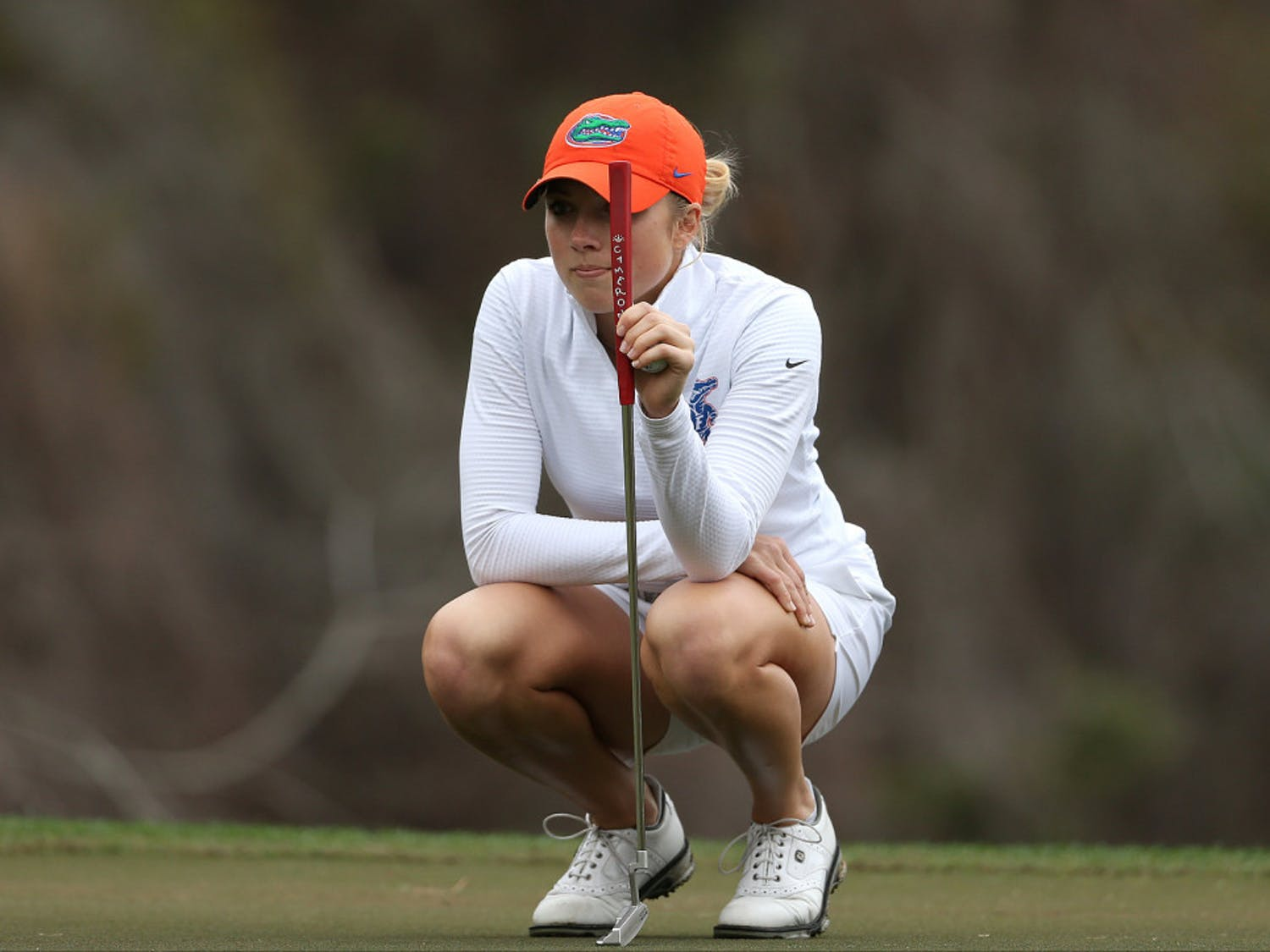 Sophomore Sierra Brooks led the Gators, shooting two under in the first round of the NCAA Regional.