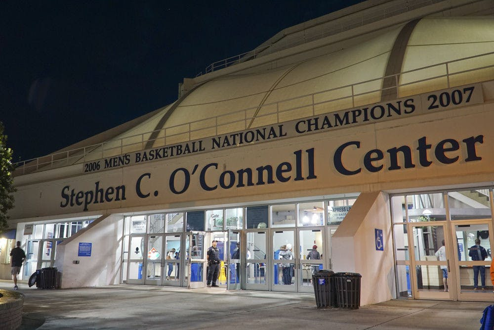 <p>The Stephen C. O'Connell Center on Dec. 3, 2016.</p>