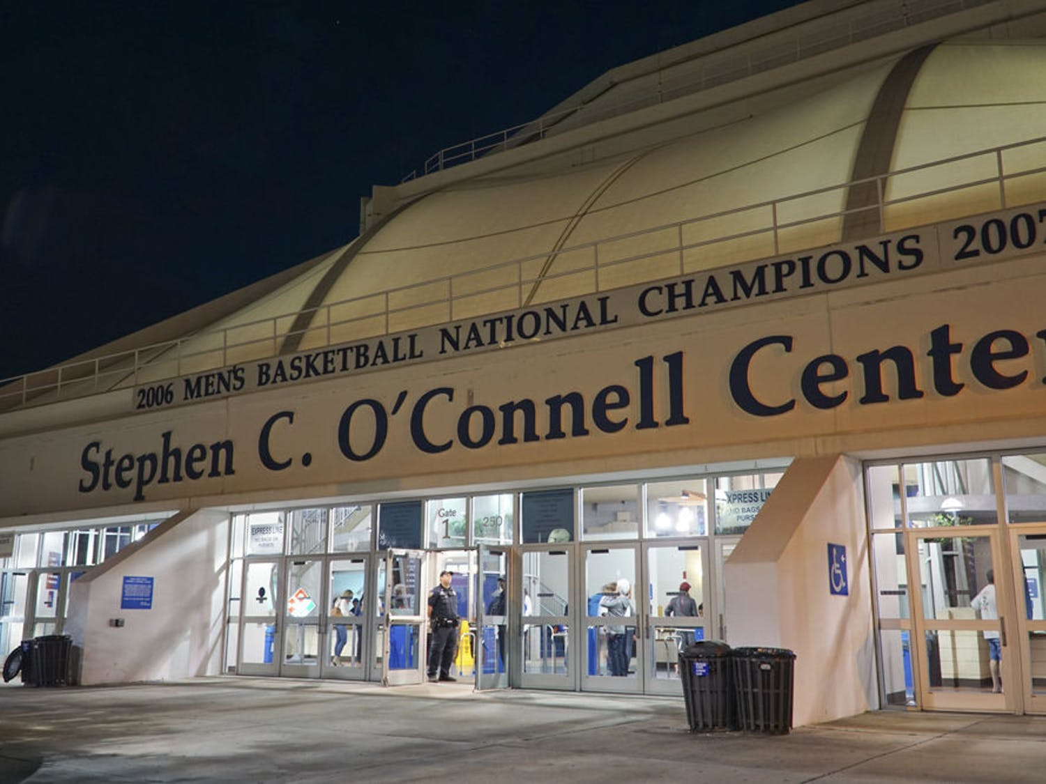 The Stephen C. O'Connell Center on Dec. 3, 2016.