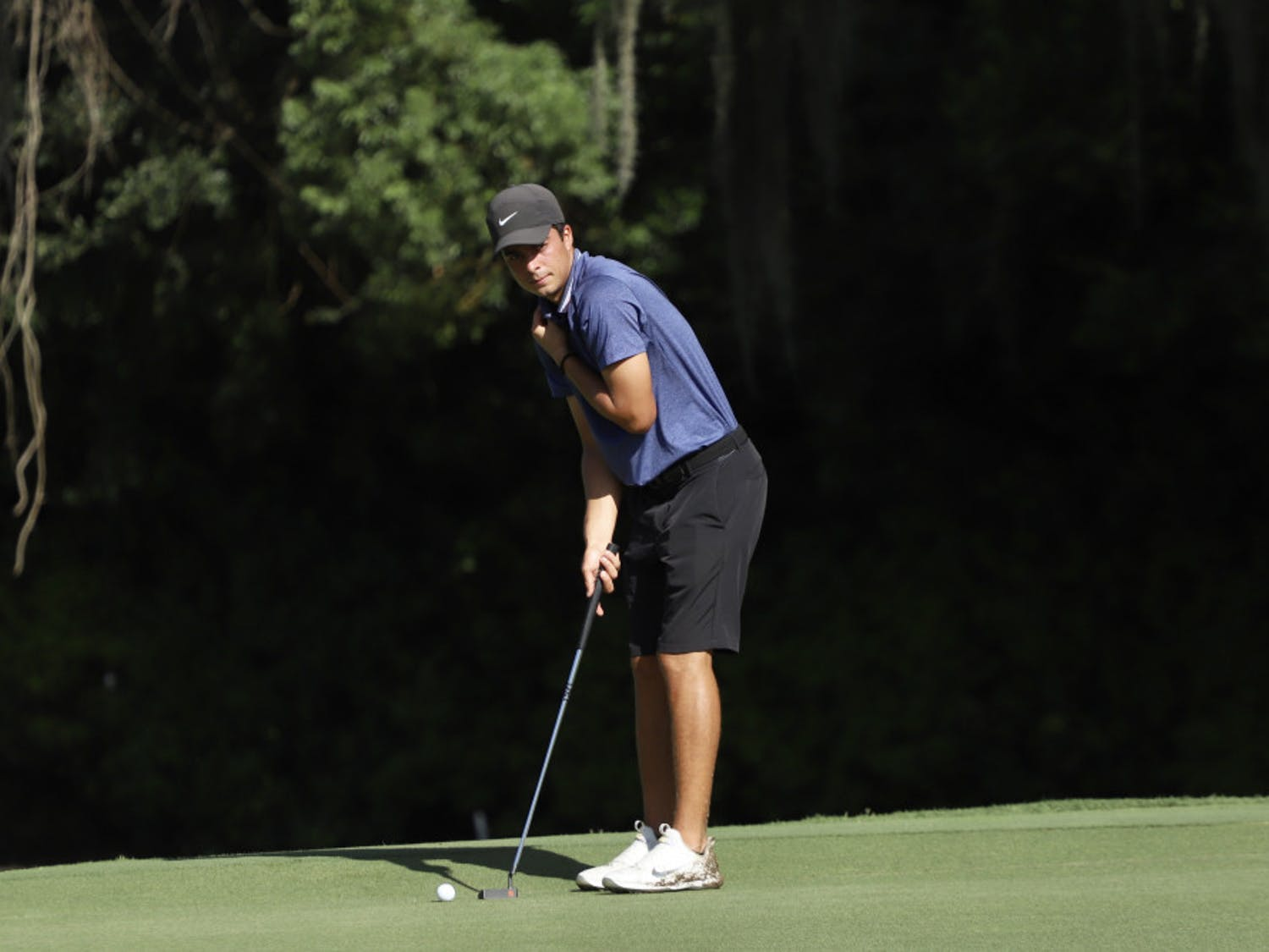 Redshirt sophomore Fred Biondi (pictured) and freshman Joe Pagdin are currently tied for 12th individually at the Vanderbilt Legends Collegiate.