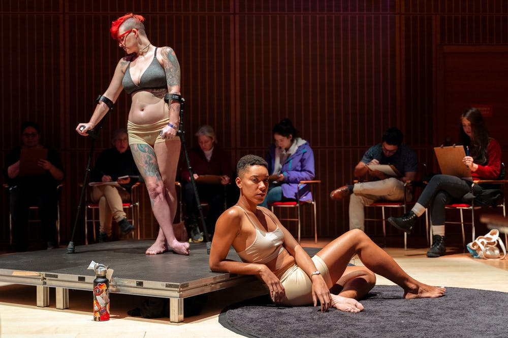 <p>Figure On Diversity models pose at the Isabella Stewart Gardner Museum's Frank Hatch Free Day in an open drawing event on Monday, February 17, 2021. Around 500 people attended the event. (Photo Courtesy by Faizal Westcott)</p>