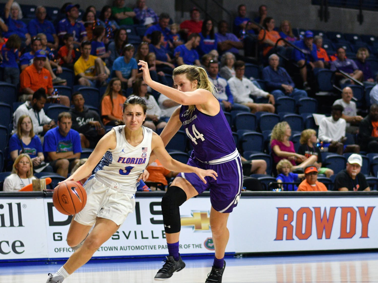 At 20.1 points per game, UF guardFunda Nakkasoglu leads the SEC in scoring. She's also one of five UF players returning from last year's team that strung together two wins in January.