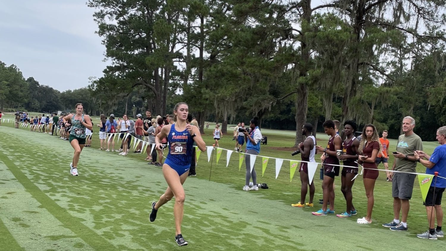 Florida's Grace Blair competes during the Mountain Dew Invitational in Gainesville on Sept. 11.