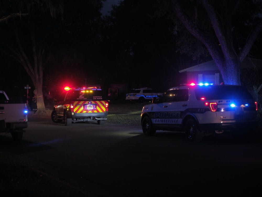 <p>Police arrived at the scene on the 2900 block of Northeast 17th Drive. Kivi J. Ellis, 26, was arrested Friday evening.</p>