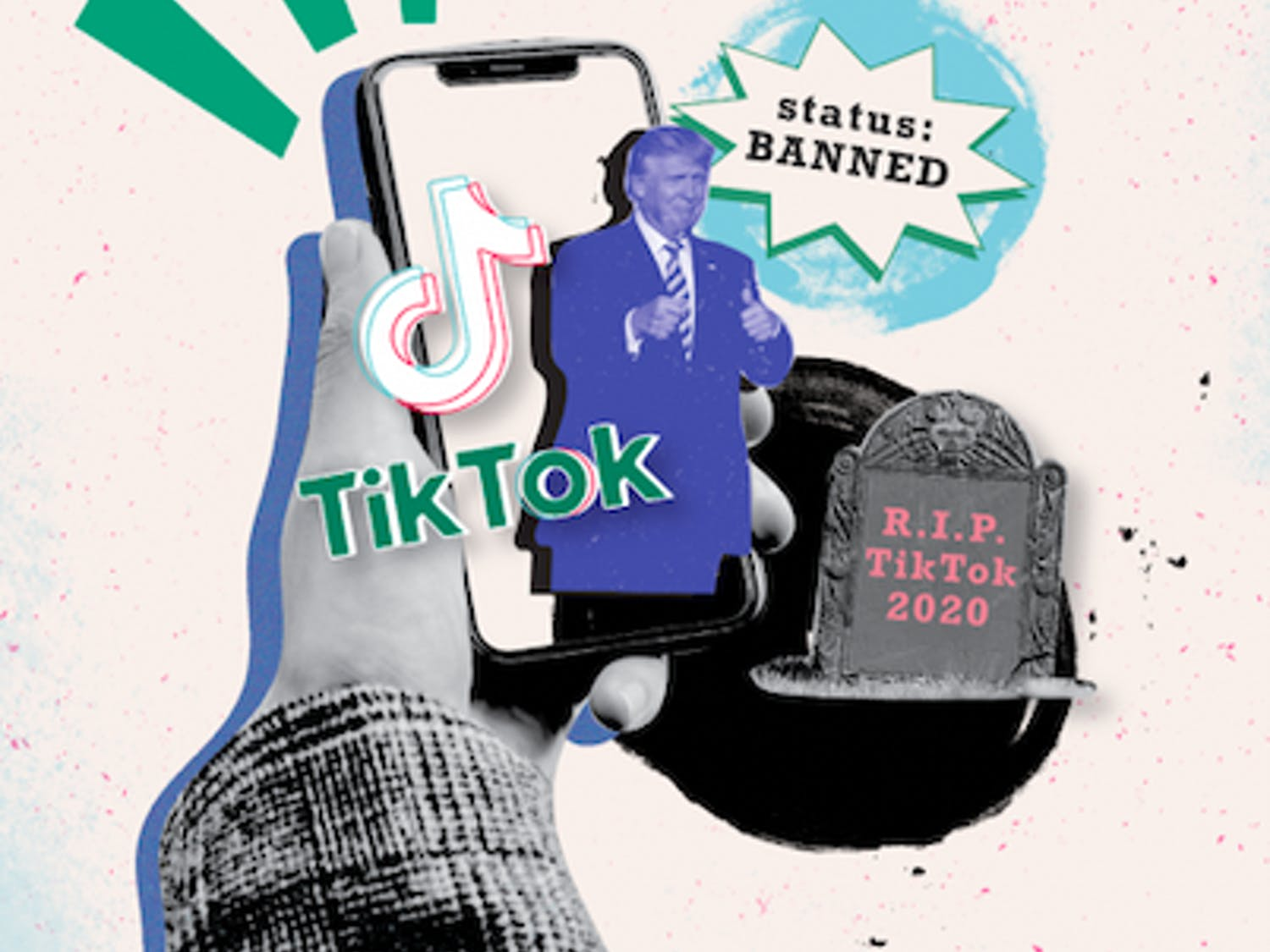 On Friday, President Trump told reporters he plans to ban TikTok, and chaos shortly followed within the TikTok community.