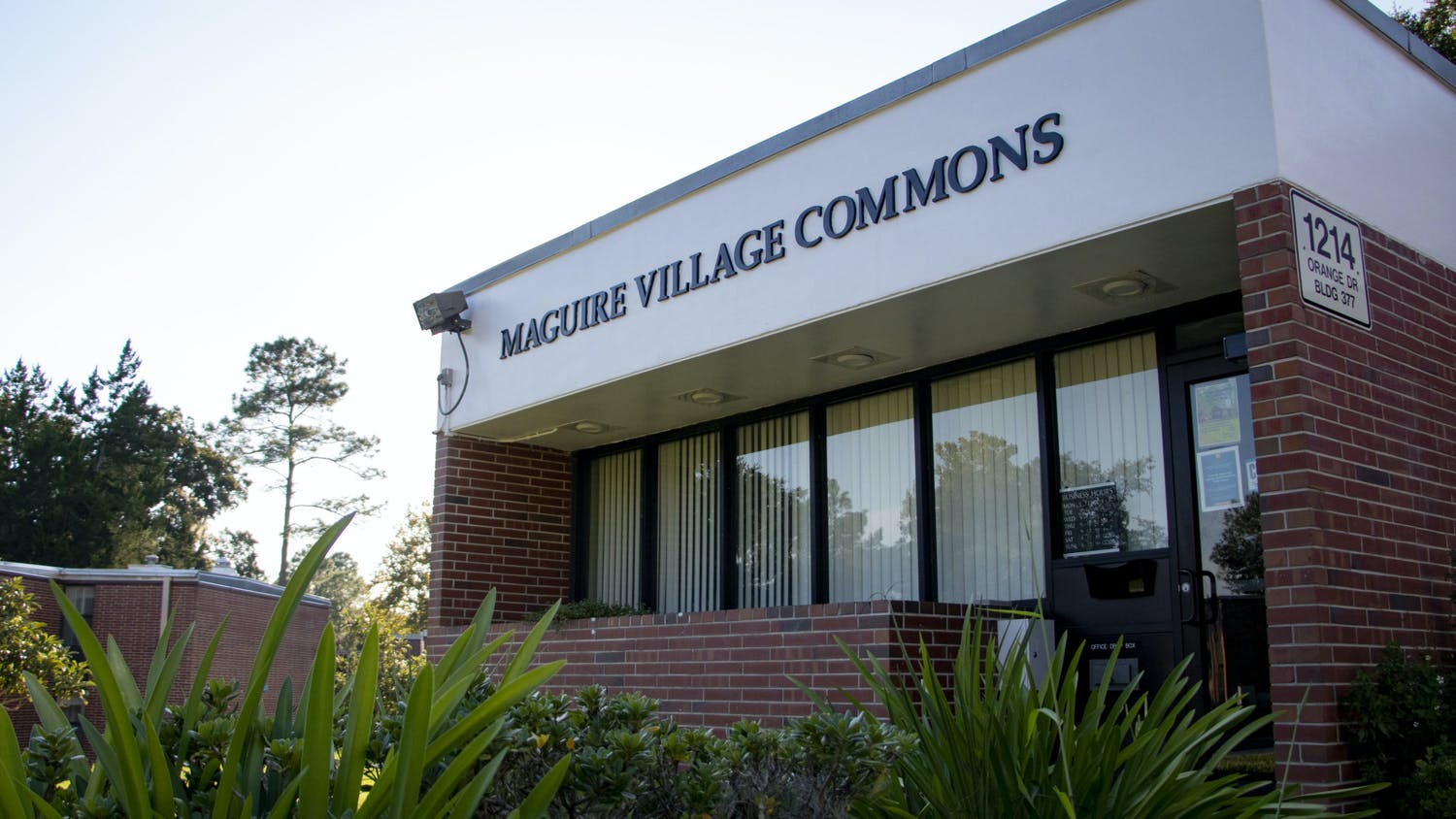 Maguire Village Commons is seen on Sunday, Sept. 26, 2021.