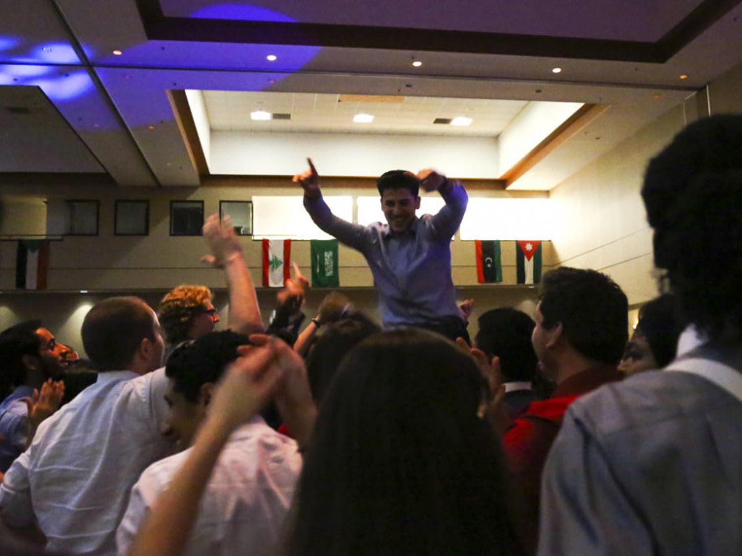 The Arab Student Association hosted its largest event of the year, the ninth annual Arabic Ball, Saturday at the Reitz Union.