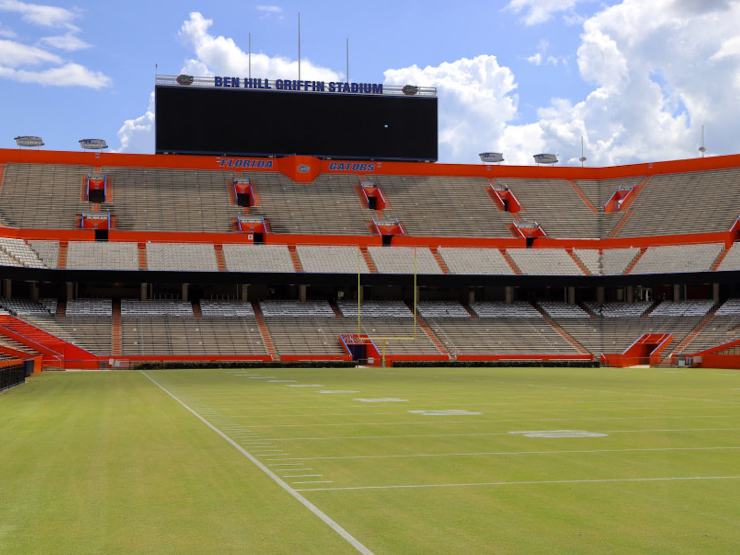 On Saturday, Ben Hill Griffin Stadium will house 2,000 students, among other fans, for the Gators' season opener. The UF chapter of Young Americans for Freedom plans to say the Gator Bait chant, despite the university's banning of the phrase at sporting events.