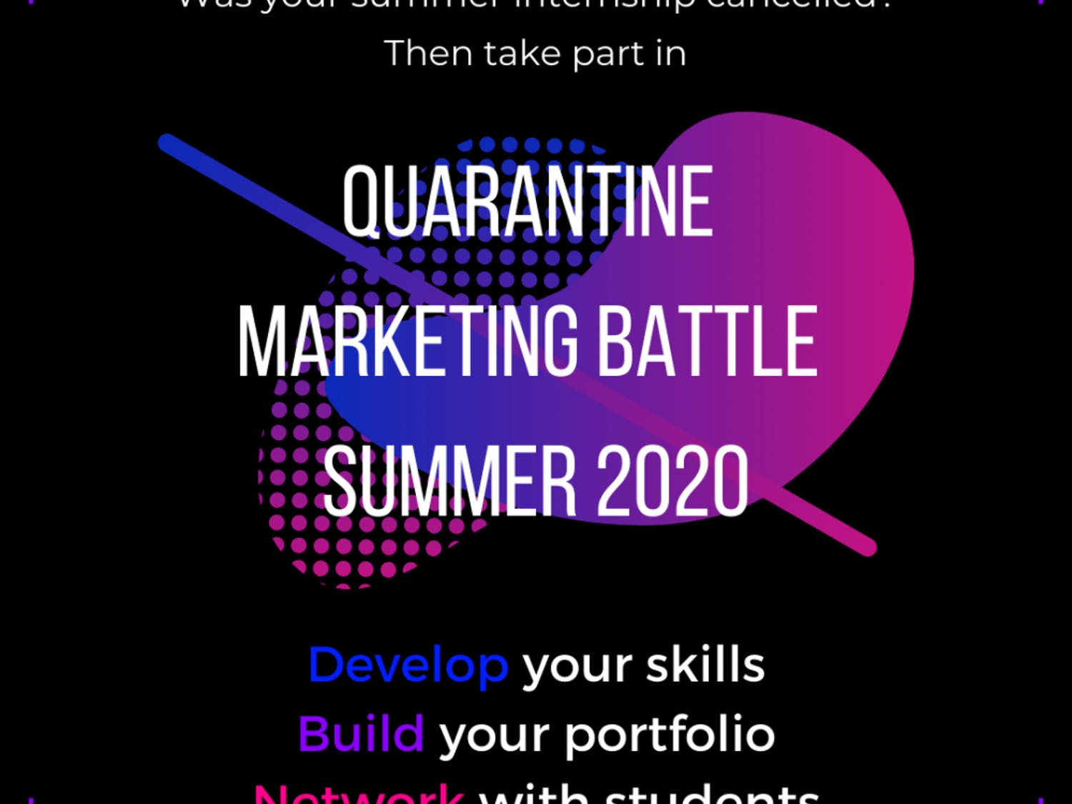 UF senior Danielle Gray created the Quarantine Marketing Battle to provide an immersive opportunity to those without Summer internships.