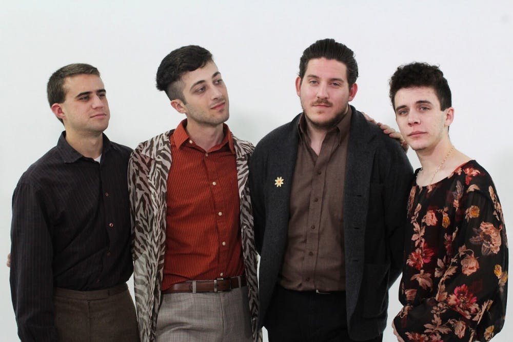<p><span>The Forum (L-R) consists of members Ethan Klohr (drums), Jacob Farrell (bass), Nick Wheeler (guitar) and Michael Higgins (vocals). The band formed in Gainesville in late 2015.</span></p>