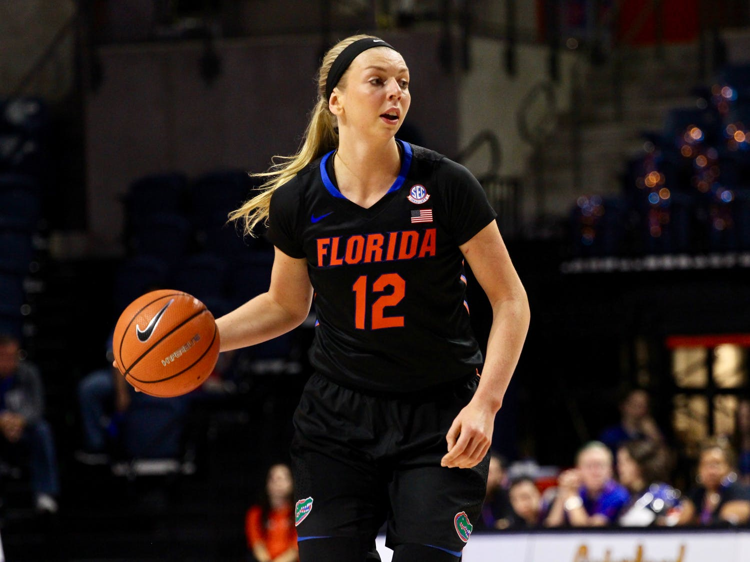 Florida guard Paulina Hersler scored a game-high 19 points on Thursday to lead the Gators to a 71-51 win over Saint Joseph's at the O'Connell Center.