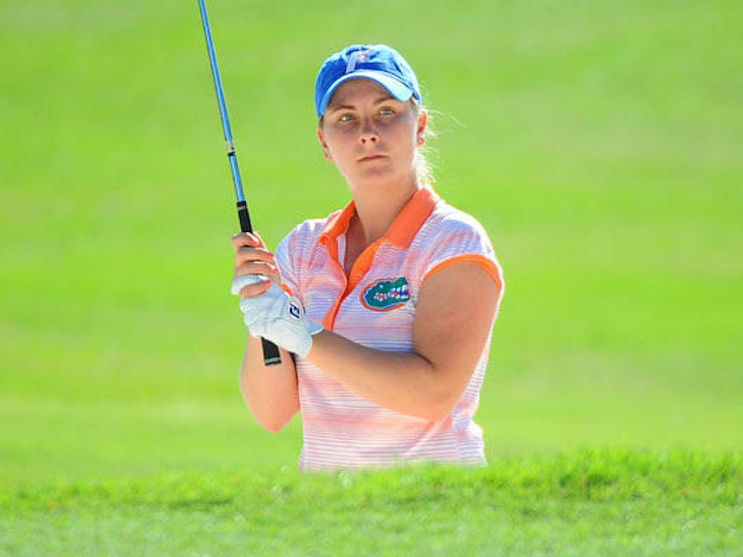 Senior Taylor Tomlinson led UF women's golf with an even par performance in the second round of the National Championship in Stillwater, Oklahoma. However, UF dropped three places to 13th and shot 15 over for the round.