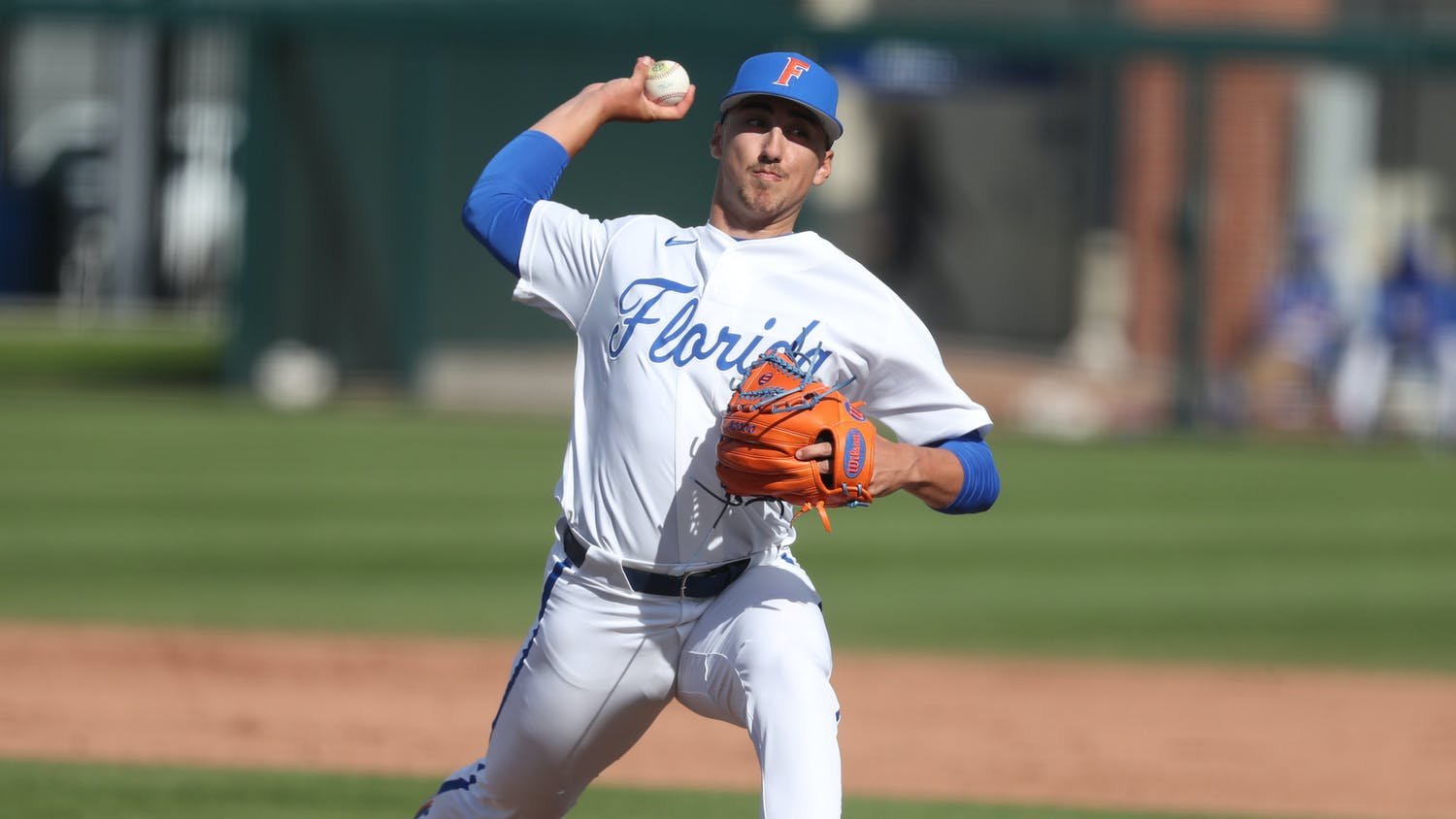 The 3-2 defeat became the second extra-inning disappointment of the year. Photo from UF-UM game Feb. 21. Courtesy of the SEC Media Portal.