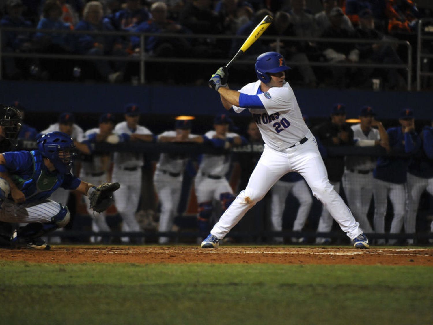 Former Gators and current New York Mets first baseman Pete Alonso is batting .378 with 17 hits and six home runs.