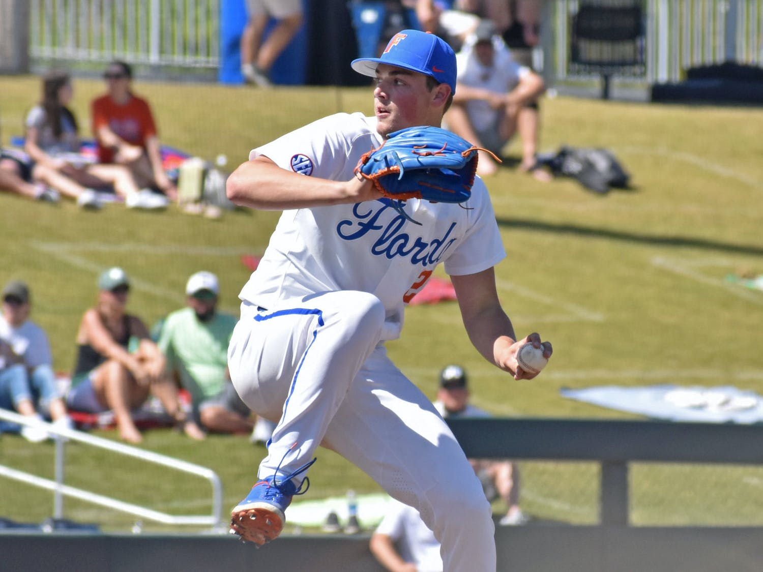 The Gators travel to Columbia, South Carolina, Friday to take on No. 20 South Carolina in their first away SEC series. Photo from UF-Jacksonville game March 14.