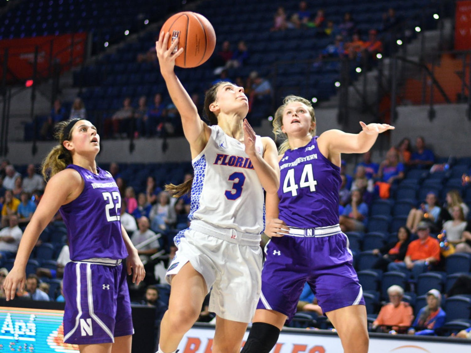 Guard Funda Nakkasoglu is the SEC's second-leading scorer, and she contributed a team-high 16 points as well as two rebounds and a steal in the Gators 56-53 loss to UNLV.