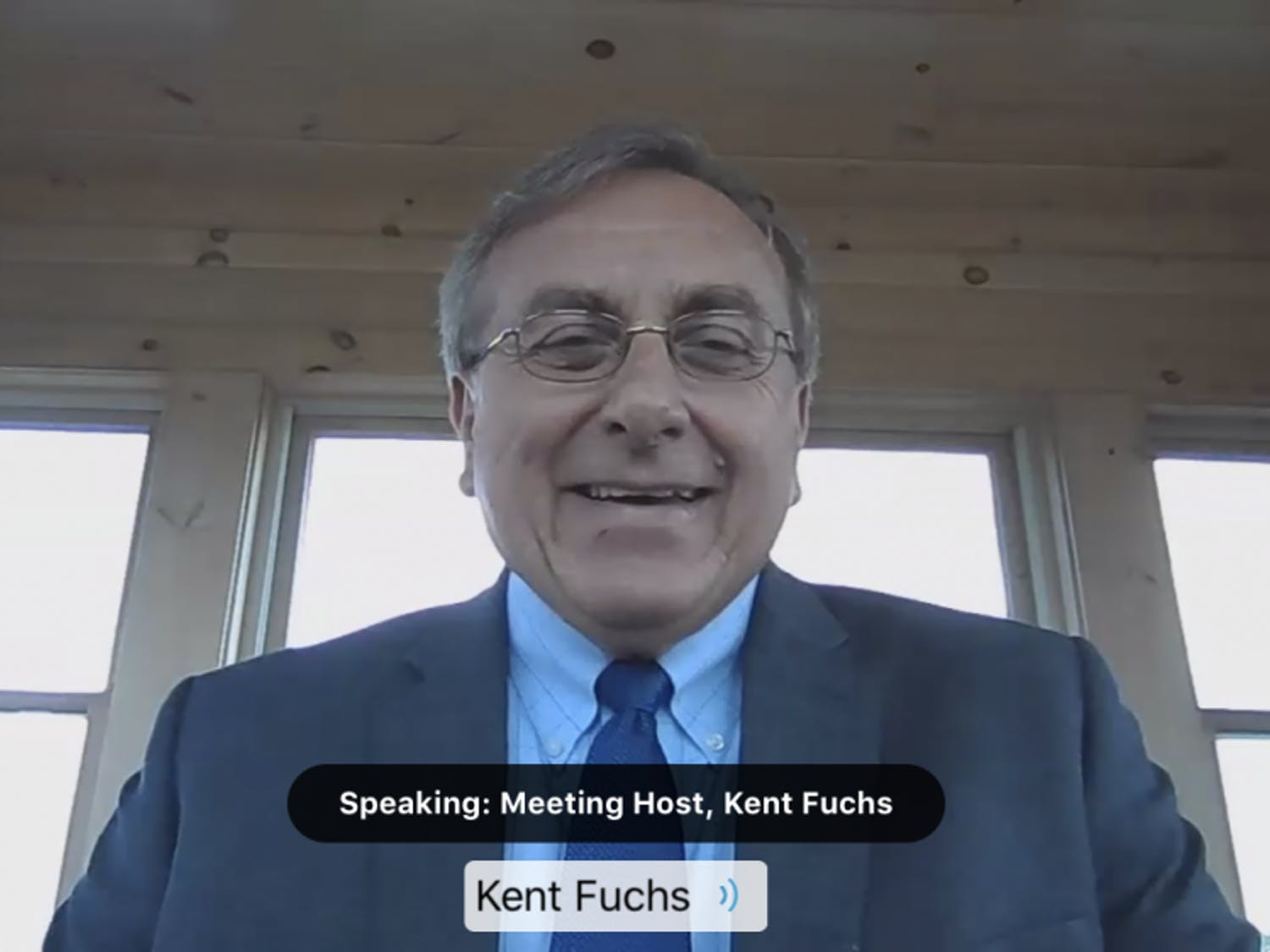 UF President Kent Fuchs and other university administratorspresented UF's reopening plan to the Florida Board of Governors in a meeting on June 23.Fuchs joined the meeting virtually.