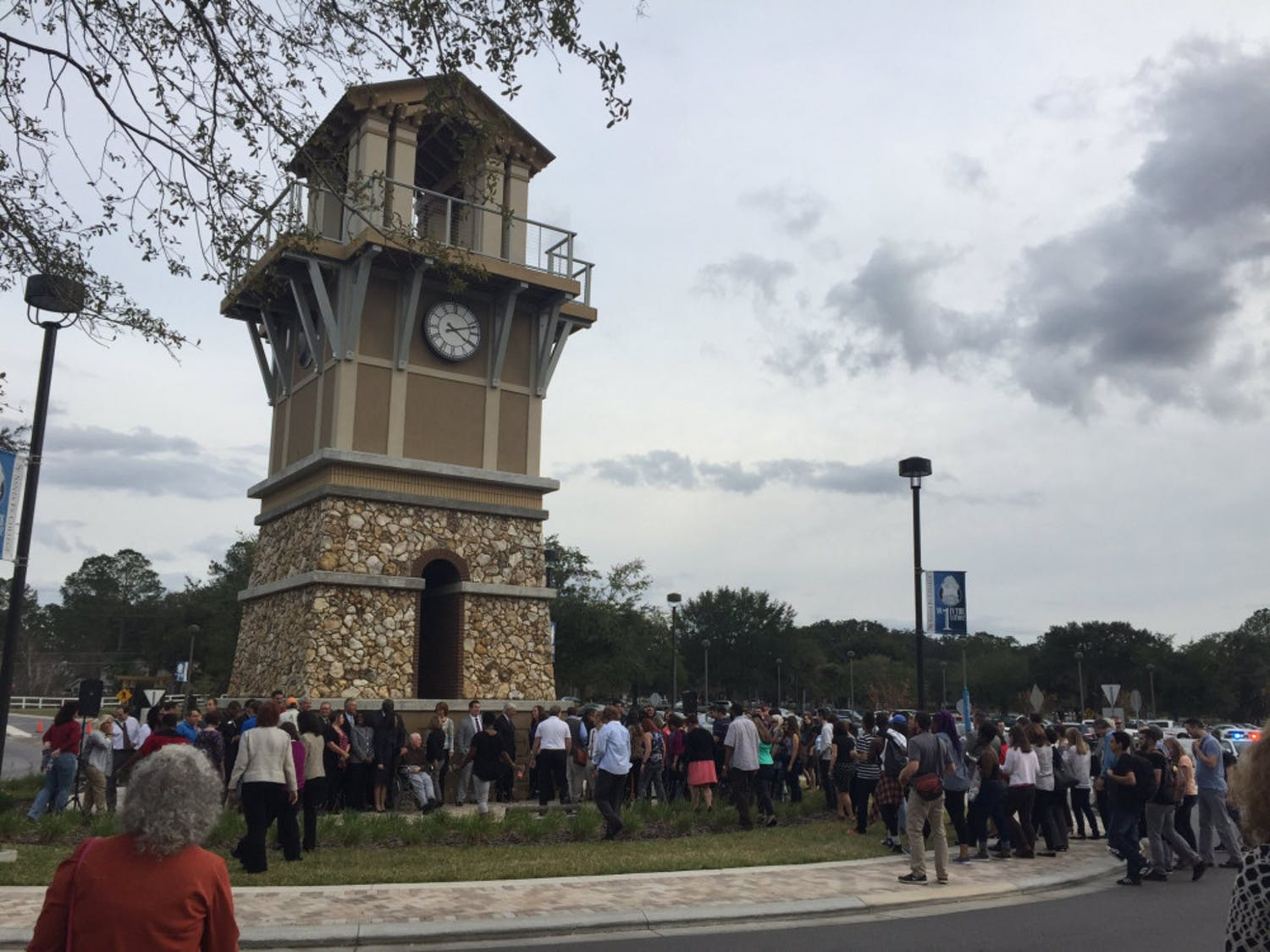 Pictured is the Santa Fe College clock tower.