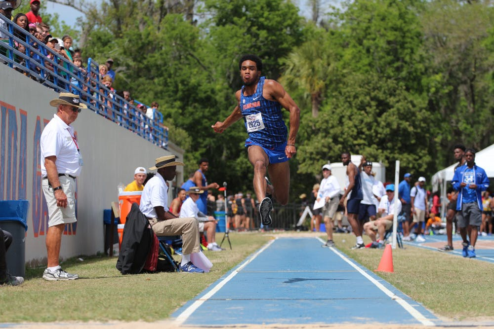 <p>Senior jumper KeAndre Bates took first place in the triple jump at the NCAA East Preliminaries. Bates qualified for the NCAA Outdoor Championships in Eugene, Oregon, for both the triple jump and long jump.</p>