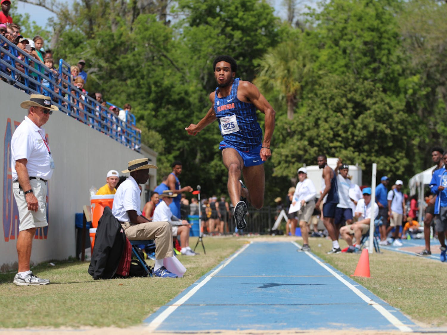 Senior jumper KeAndre Bates took first place in the triple jump at the NCAA East Preliminaries. Bates qualified for the NCAA Outdoor Championships in Eugene, Oregon, for both the triple jump and long jump.
