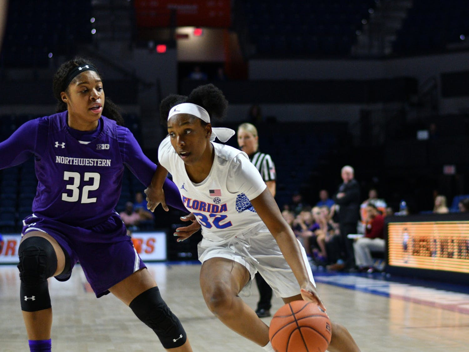 Florida guard Ariel Johnson is averaging 5.3 points per game and is second on the team with 22 three-pointers.
