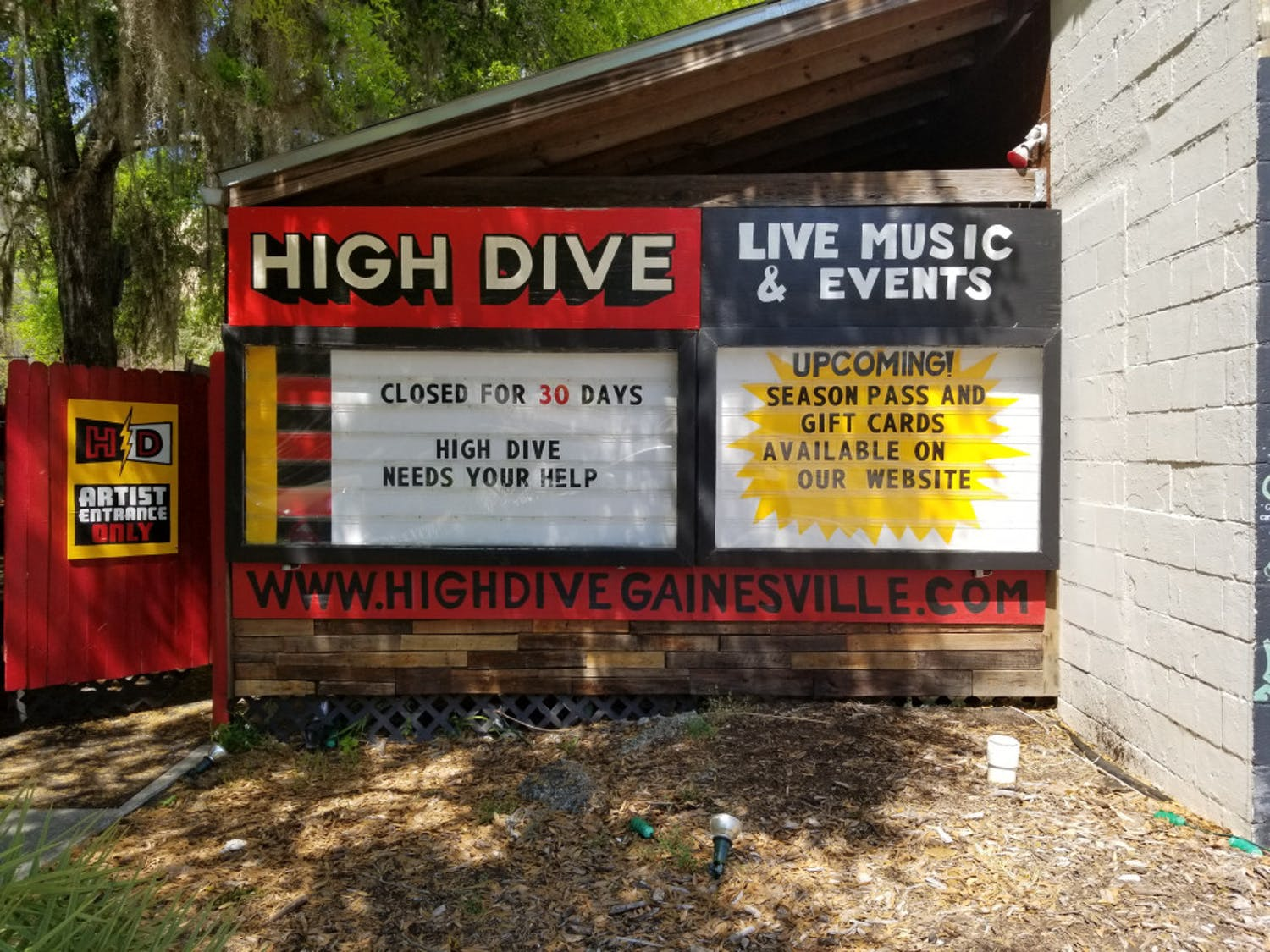 Gainesville's The Florida Theatre, High Dive and The Fest punk festival, have joined the National Independent Venue Association, along with 1,600 other venues nationwide.