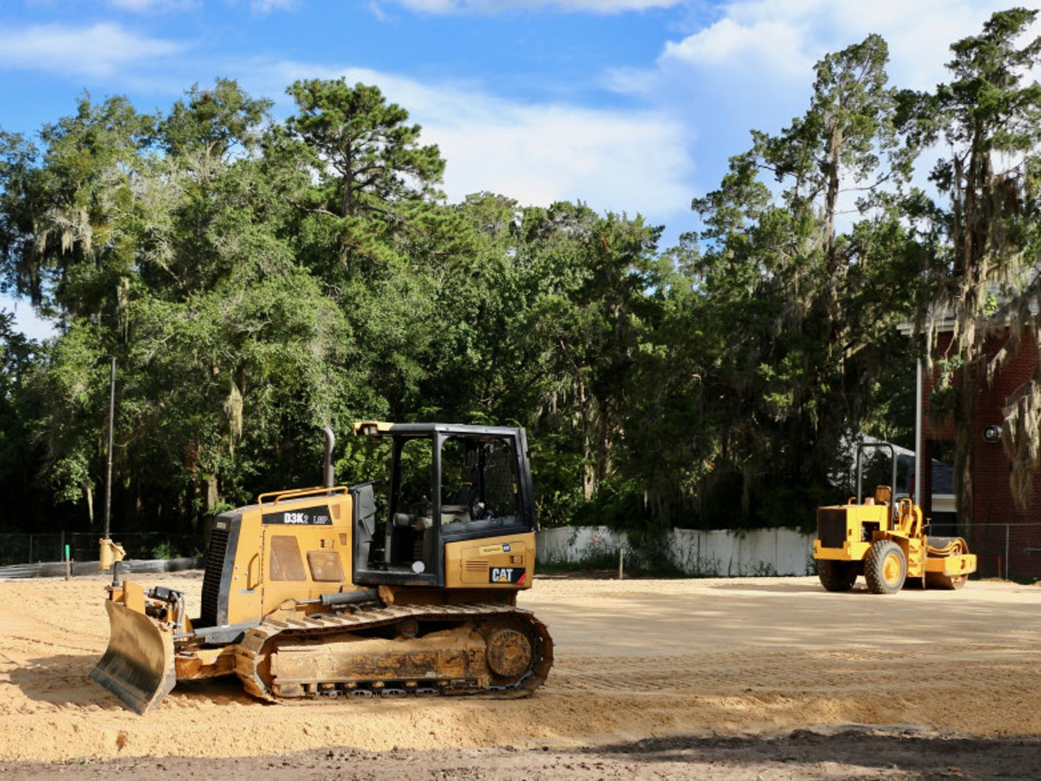 Pi Kappa Phi Fraternity at UF had its former house demolished in July. A new fraternity house will be built at the same location, 11 W. Fraternity Row.