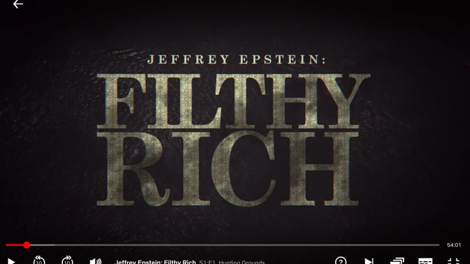 "The new Netflix docuseries ""Jeffery Epstein: Filthy Rich"" was released on May 27."