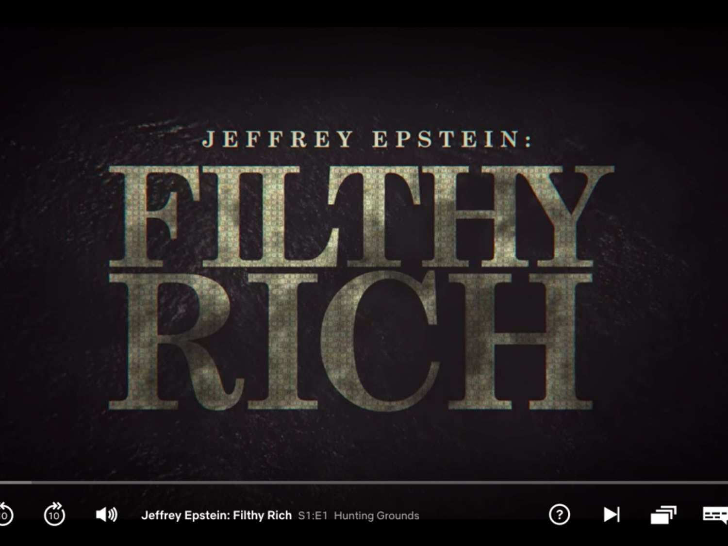 """The new Netflix docuseries """"Jeffery Epstein: Filthy Rich"""" was released on May 27."""