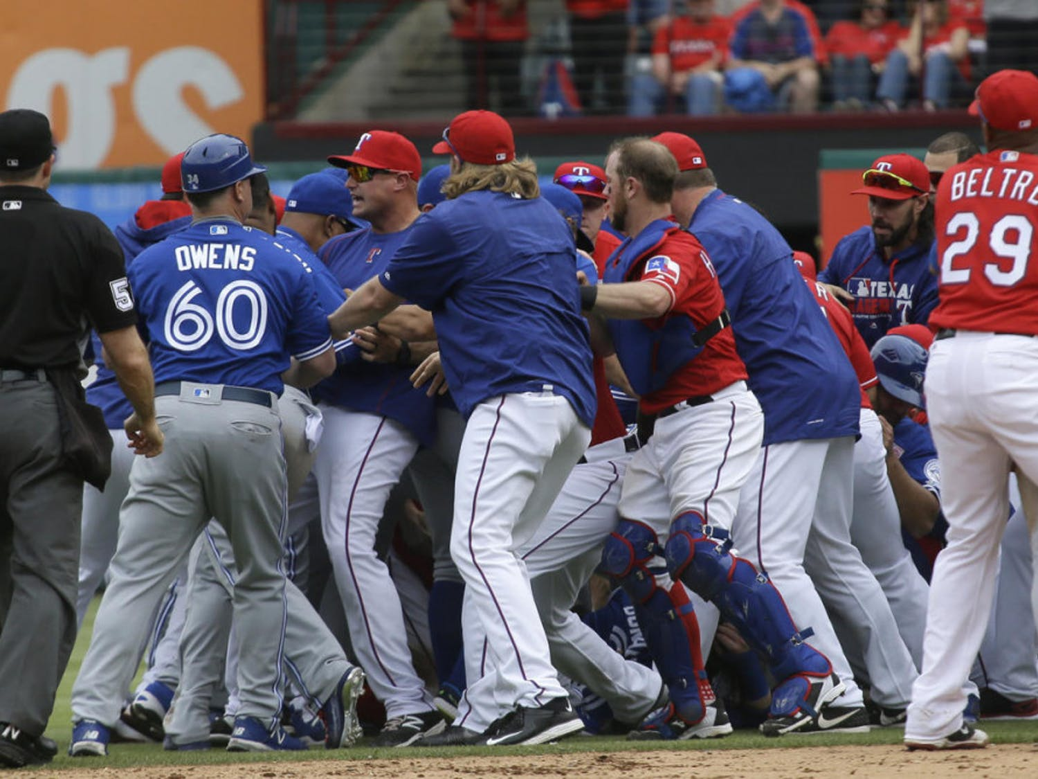 Bench-clearing brawls have been one of the mainstays in Major League Baseball over the last several decades.