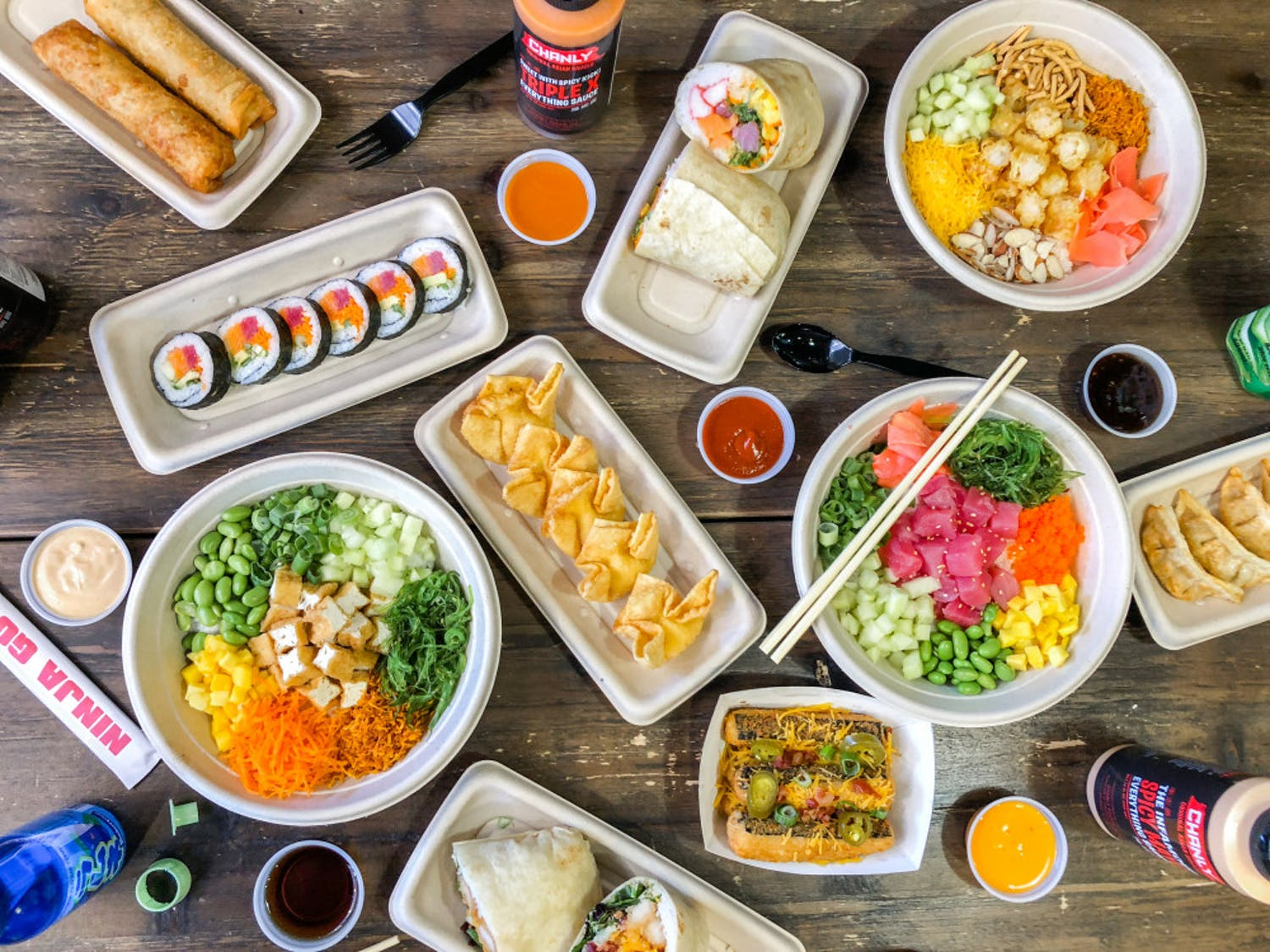 The new quick-serve sushi concept location will open at 3524 SW Archer Rd., with a two-day grand opening on Oct. 2 and 3.