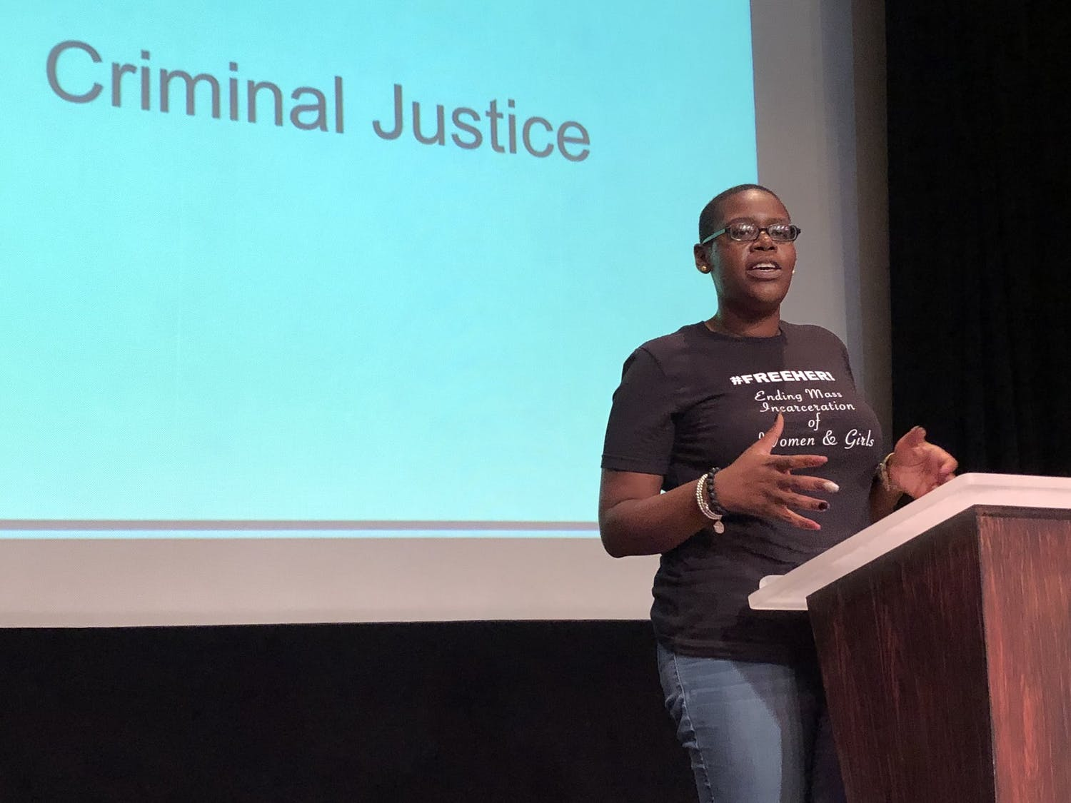 Jhody Polk shares her story of incarceration