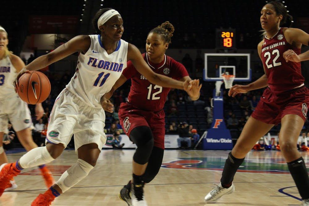 """<p dir=""""ltr"""">Florida guard Dyandria Anderson, who set a new career high in points against Oklahoma, said while she and her teammates enjoyed arguably their best win of the season, they need to retain the lessons learned from it. """"We can't just forget about them,"""" Anderson said.&nbsp;&nbsp;</p>"""