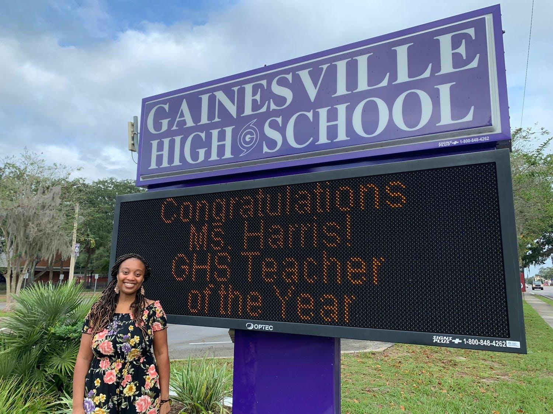 Photo of ACPS Teacher of the Year Nicole Harris [Courtesy of Jackie Johnson]
