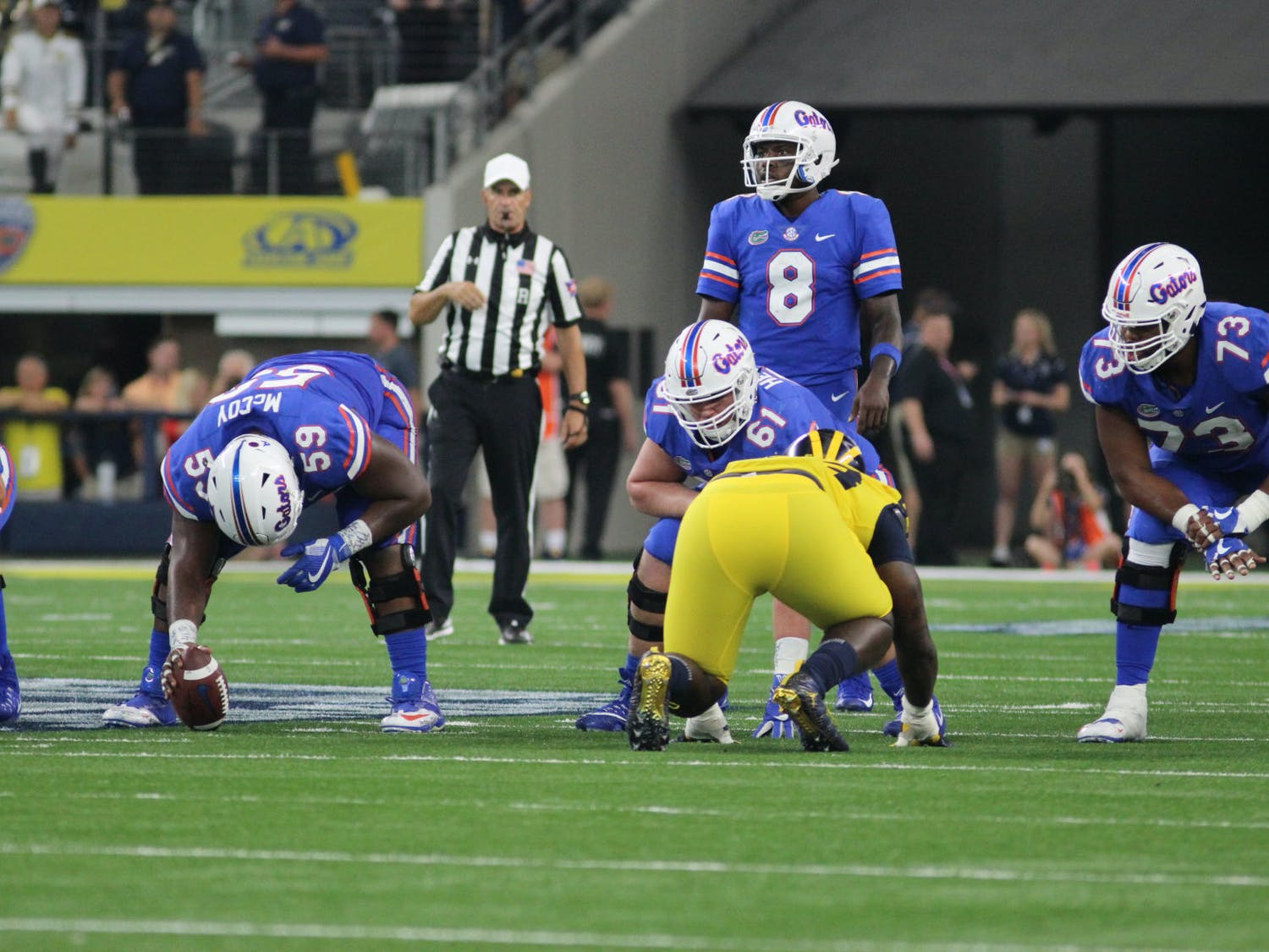 Malik Zaire made his first start of the year in place of Feleipe Franks, completing 13 of 19 passes for 158 yards in Saturday's 45-16 loss to Missouri in Columbia.