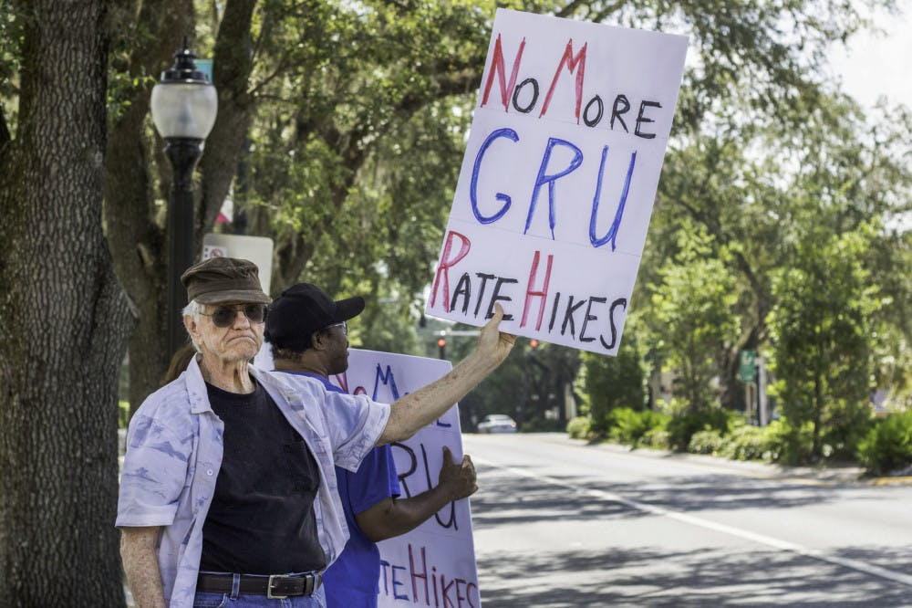 GRU protest 2
