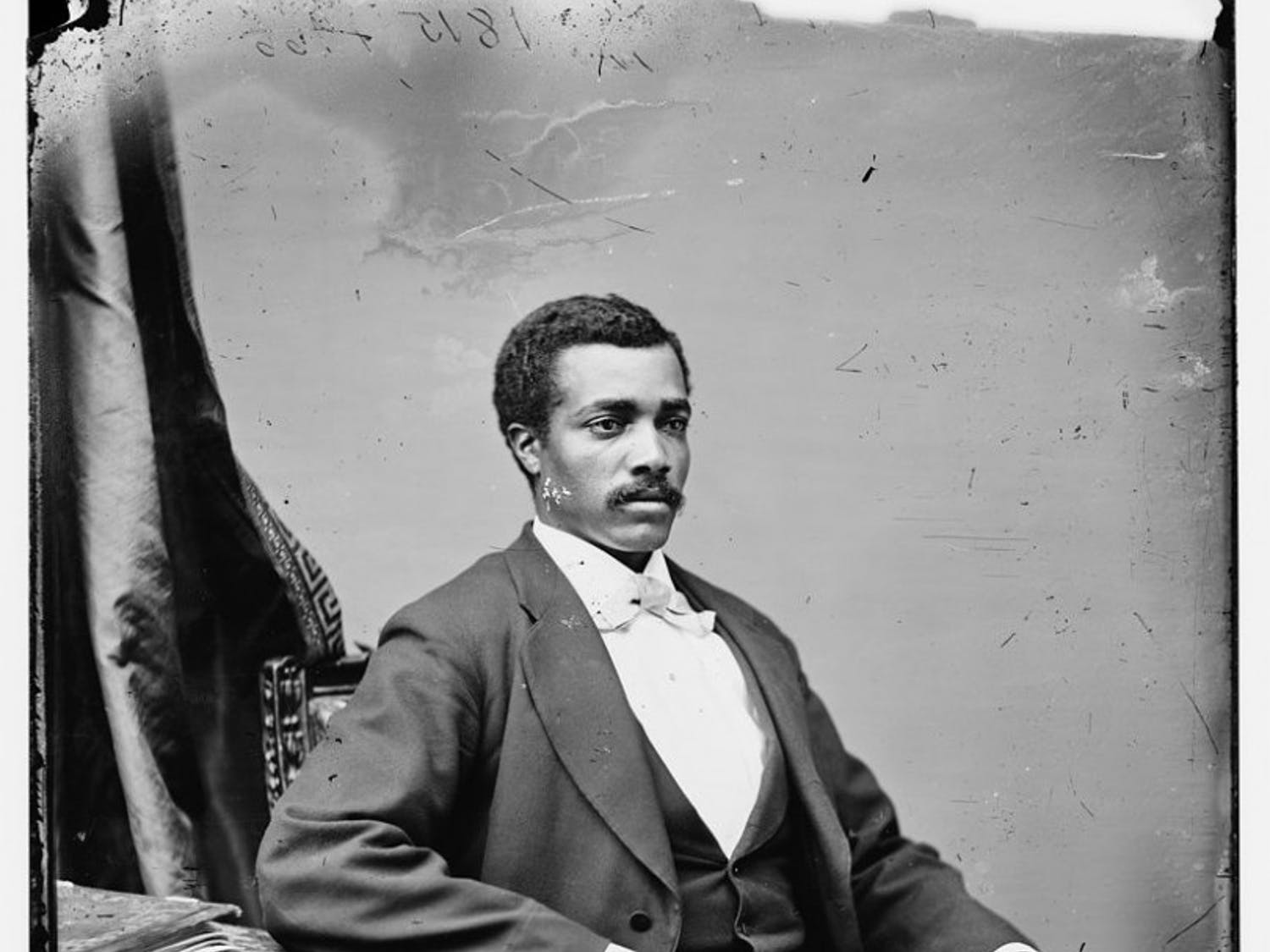 Josiah T. Walls, 1842-1905, was Florida's first African American representative. He is the only person in Alachua County's history to serve as the Gainesville mayor, a county commissioner, a school board member, a state senator and a U.S. congressman.