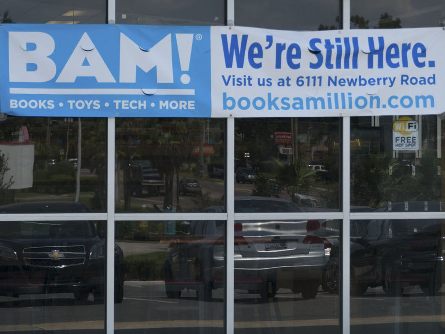 Books-A-Million recently closed its location at 2601 NW 13th St. In its place, 2nd and Charles will open in the middle of November.