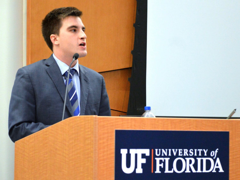 Trevor Schaettle, a 21-year-old history senior, was elected Senate President Pro-Tempore at Tuesday evening's senate meeting. The Impact Party senator won 54-20 against Senator Zachariah Chou.