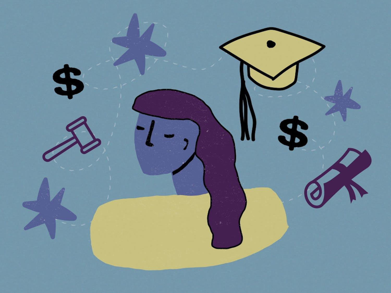 Law Scholarship Graphic