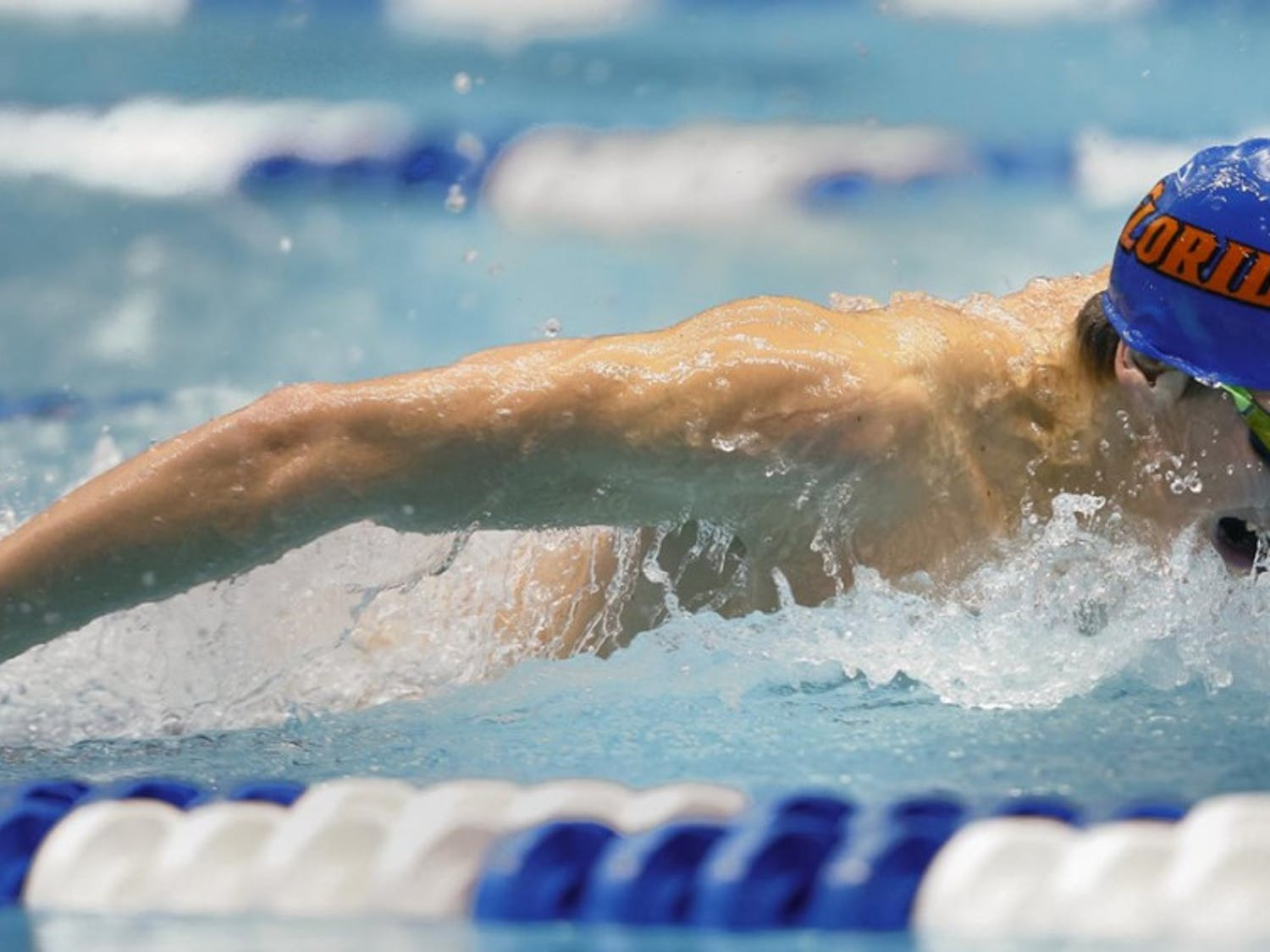 After being named SEC Male Swimmer of the Week, Switkowski reached the podium in three separate events during the Gators swimming and diving teams' win against Alabama in Tuscaloosa.