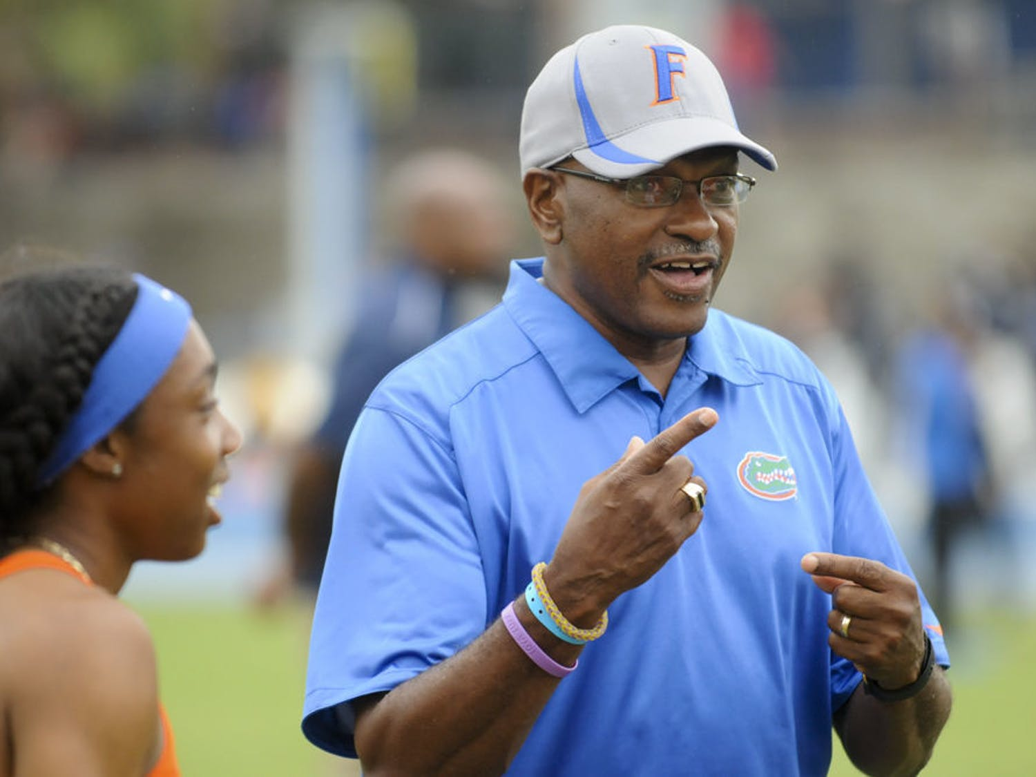 Coach Mike Holloway sent two Gators track athletes to compete Wednesday afternoon in Texas.