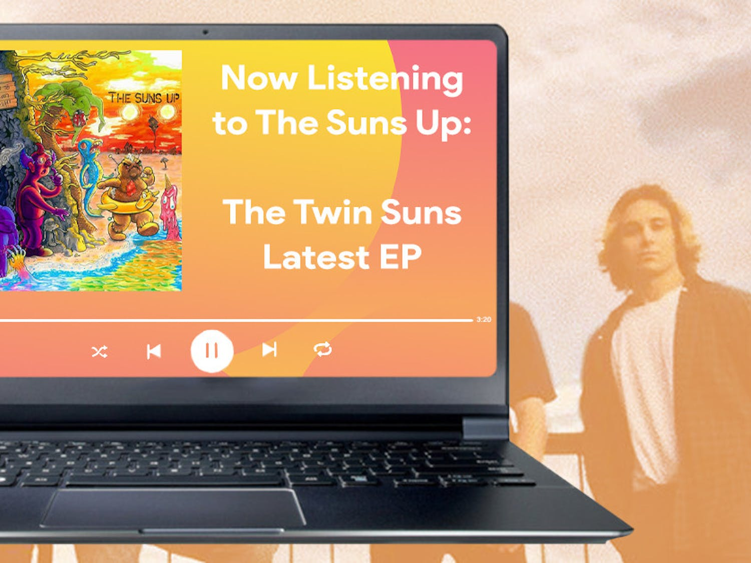 The six-piece surf rock band's debut EP comes two years into their time playing together.