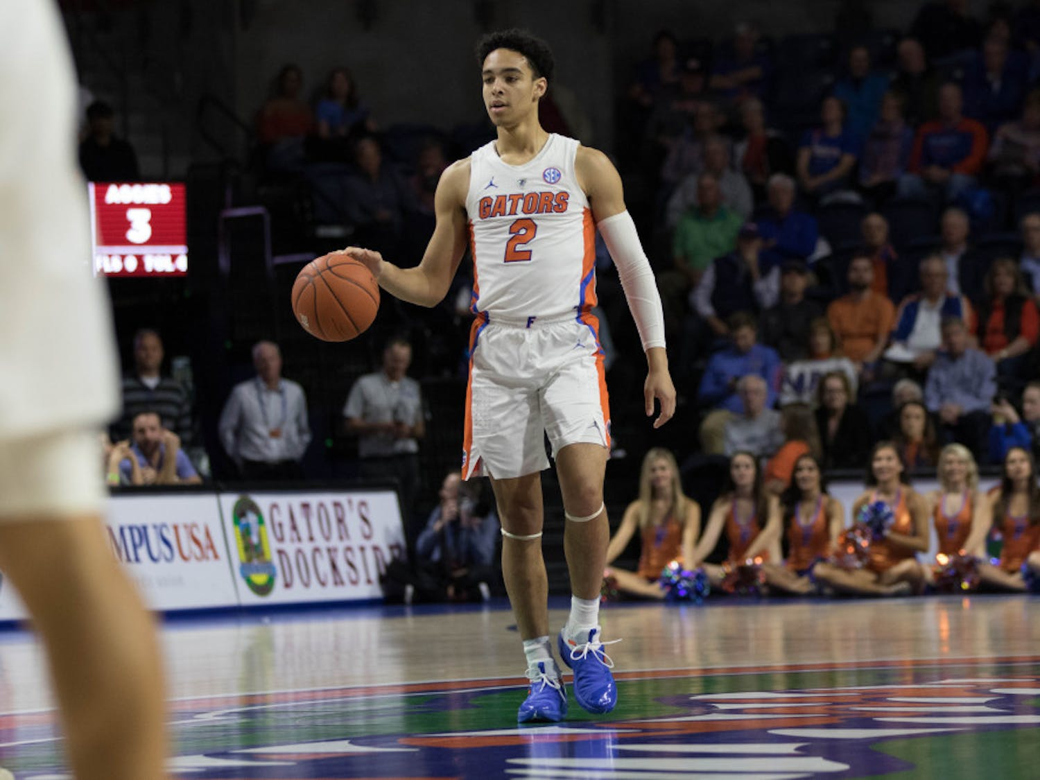 UF guard Andrew Nembhard is shooting 74.1 percent in his last four games.