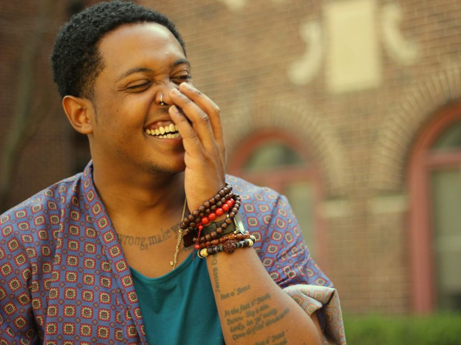 Danez Smith is a celebrated queer poet who was the featured performer at the Pride Student Union's Queer Poetry Jam Friday for Pride Awareness Month.