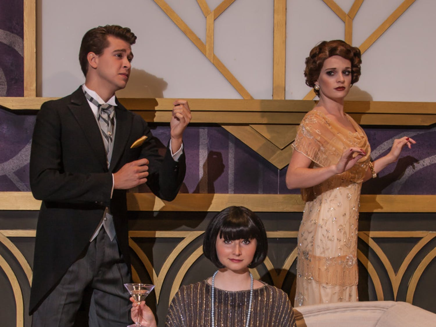 """The UF School of Theatre and Dance will premiere its fall musical, """"The Drowsy Chaperone,"""" at 7:30 p.m. on Oct. 15, 2015."""